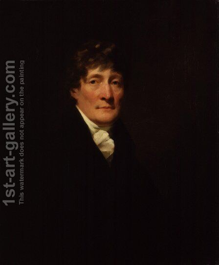 Portrait of Henry Mackenzie 1745-1831 c.1810 by Sir Henry Raeburn - Reproduction Oil Painting