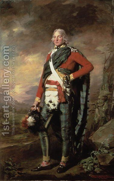 Sir John Sinclair, 1st Baronet of Ulbster, 1794-95 by Sir Henry Raeburn - Reproduction Oil Painting