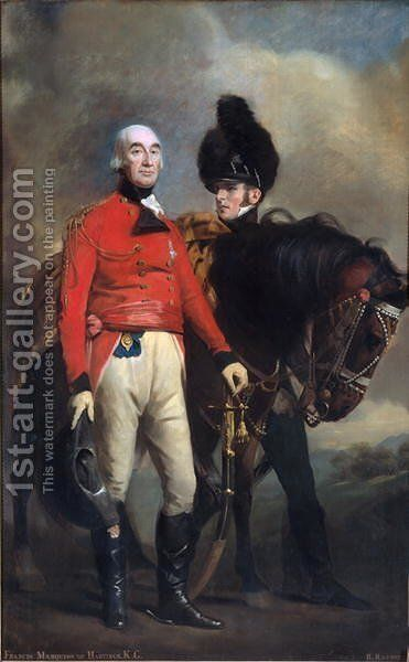 Sir Francis Rawdon-Hastings, 2nd Earl of Moira, c.1813 by Sir Henry Raeburn - Reproduction Oil Painting