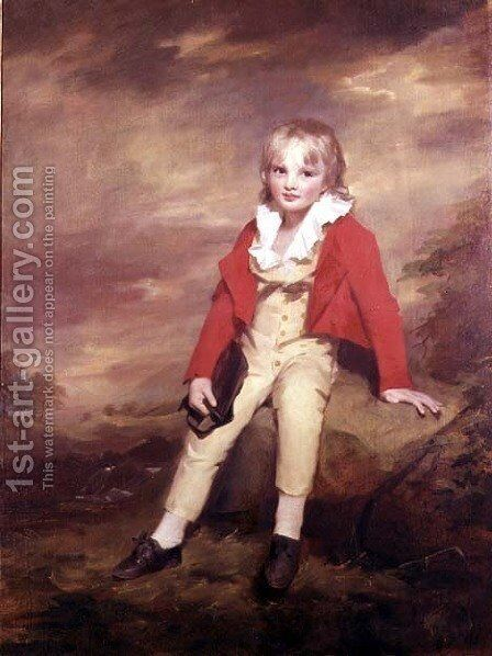 Sir George Sinclair of Ulbster 1790-1868 as a child, c.1796-97 by Sir Henry Raeburn - Reproduction Oil Painting