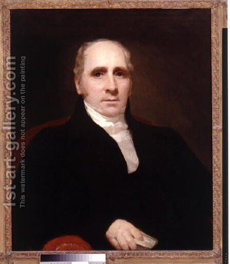 Portrait of Dr Thomas Charles Hope 1766-1844 by Sir Henry Raeburn - Reproduction Oil Painting