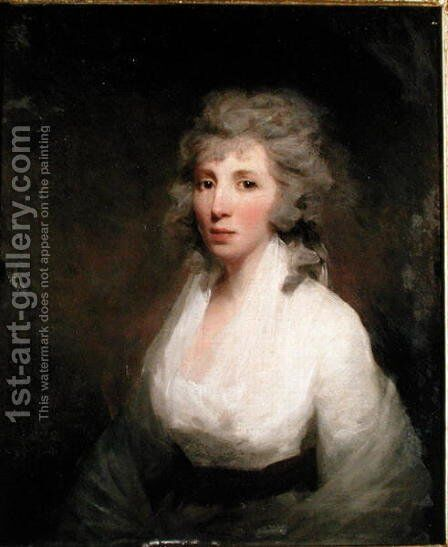 Portrait of Mrs James Paterson by Sir Henry Raeburn - Reproduction Oil Painting