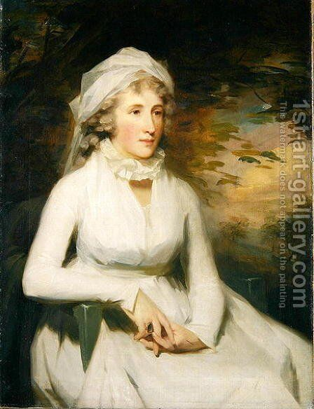 Elizabeth Graham 1757-1816 Mrs Robert Douglas of Brigton by Sir Henry Raeburn - Reproduction Oil Painting