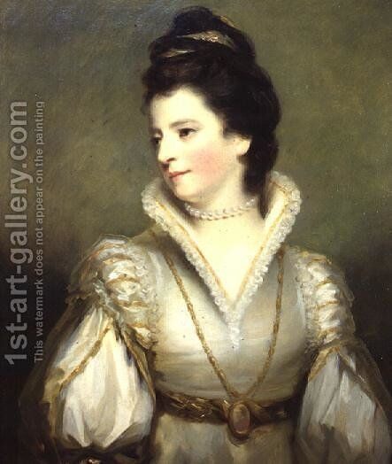 Jane, Duchess of Gordon by Sir Henry Raeburn - Reproduction Oil Painting