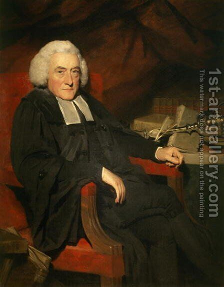 Principal William Robertson 1721-93 1794 by Sir Henry Raeburn - Reproduction Oil Painting