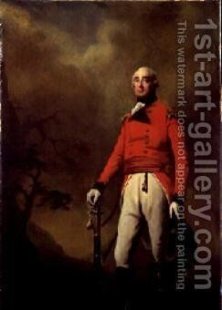 Rt. Hon. Francis Rawdon Hastings 1754-1826 by Sir Henry Raeburn - Reproduction Oil Painting