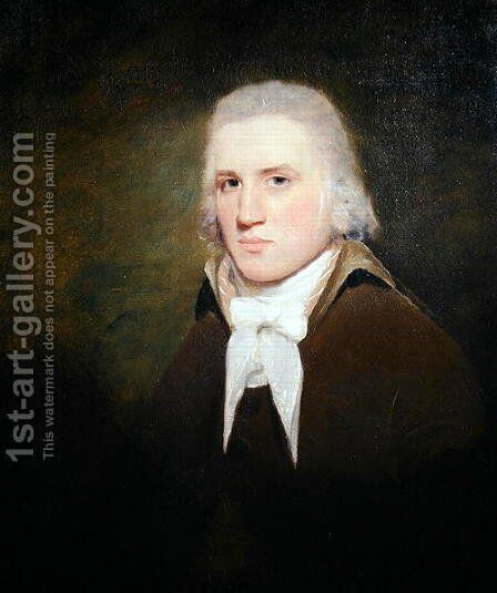 Thomas Wise of Hillbank by Sir Henry Raeburn - Reproduction Oil Painting
