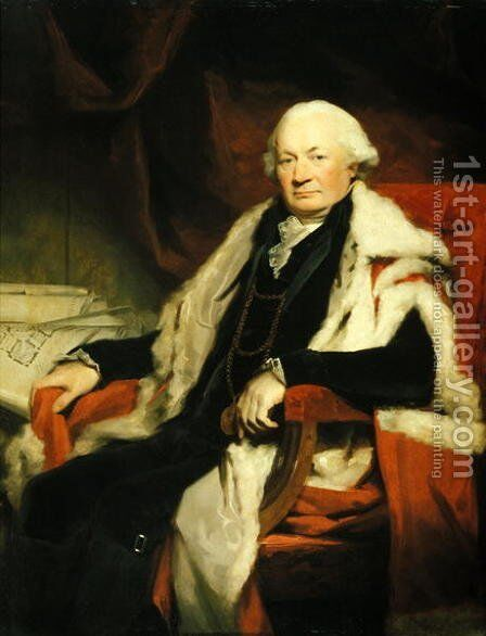 Thomas Elder, Lord Provost of Edinburgh, 1797 by Sir Henry Raeburn - Reproduction Oil Painting