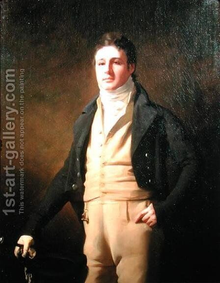 Portrait of John Campbell of Kilberry 1780-1838, 1802 by Sir Henry Raeburn - Reproduction Oil Painting