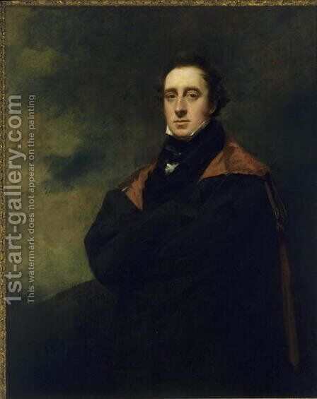 Andrew Spottiswoode 1787-1866 by Sir Henry Raeburn - Reproduction Oil Painting