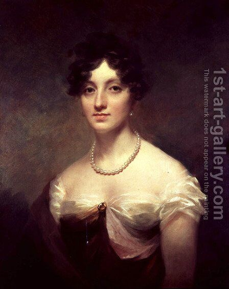 Lady Colville by Sir Henry Raeburn - Reproduction Oil Painting