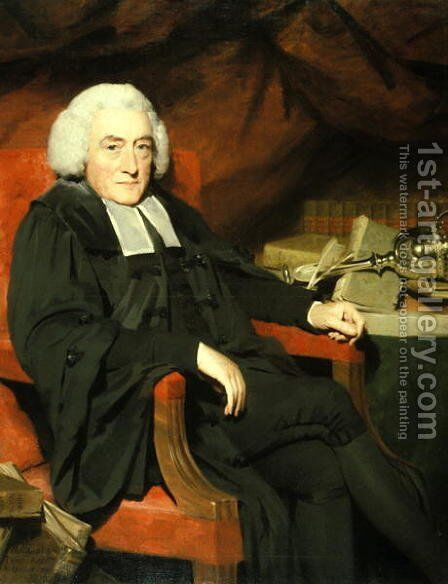 William Robertson, 1792 by Sir Henry Raeburn - Reproduction Oil Painting