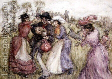 Appy Ampstead, 1913 by Arthur Rackham - Reproduction Oil Painting