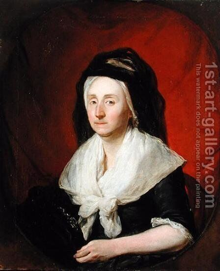 Portrait of Mrs. Wolters, 1797 by Martin Ferdinand Quadal - Reproduction Oil Painting