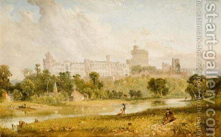 Windsor Castle by James Baker Pyne - Reproduction Oil Painting