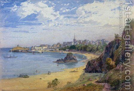 Tenby by James Baker Pyne - Reproduction Oil Painting