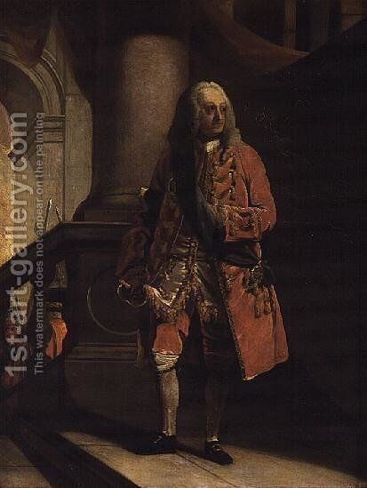 George II by James Baker Pyne - Reproduction Oil Painting