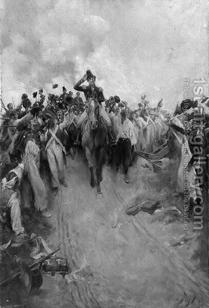 General Andrew Jackson by Howard Pyle - Reproduction Oil Painting