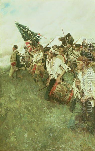 The Nation Makers, 1903 by Howard Pyle - Reproduction Oil Painting
