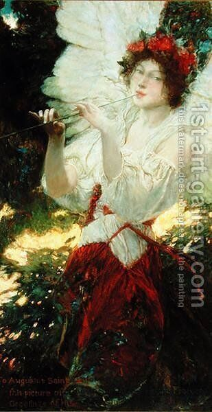 Young Summer by Howard Pyle - Reproduction Oil Painting