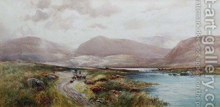 Scottish Landscape, c.1910 by Albert Procter - Reproduction Oil Painting