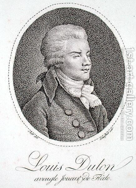 Louis Dulon, engraved by Scheffner by (after) Pritt - Reproduction Oil Painting