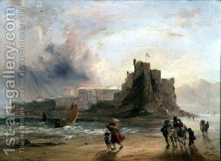 Elizabeth Castle, Jersey by Edward Pritchard - Reproduction Oil Painting