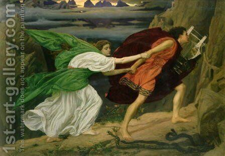 Orpheus and Eurydice, 1862 by Sir Edward John Poynter - Reproduction Oil Painting