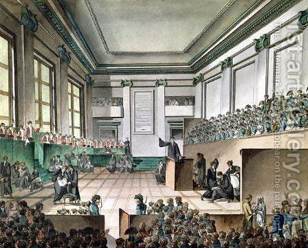 The Trial of the Cadoudal Affair, c.1804 by Armand de Polignac - Reproduction Oil Painting