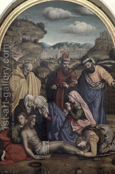 The Deposition by Sister Plautilla Nelli - Reproduction Oil Painting