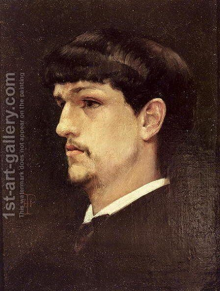 Claude Debussy 1862-1918 1886 by Henri Ludovic Marius Pinta - Reproduction Oil Painting
