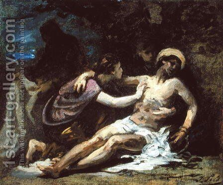 Lamentation by Isidore Alexandre Augustin Pils - Reproduction Oil Painting