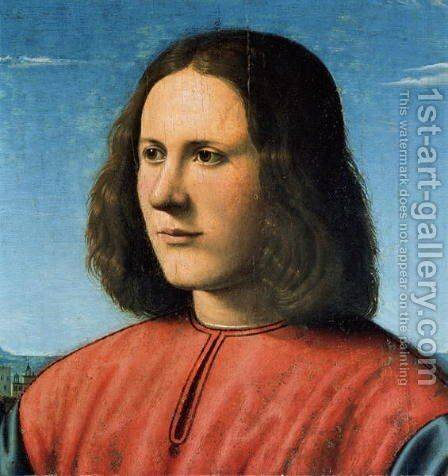 A Young Man by Cosimo Piero di - Reproduction Oil Painting