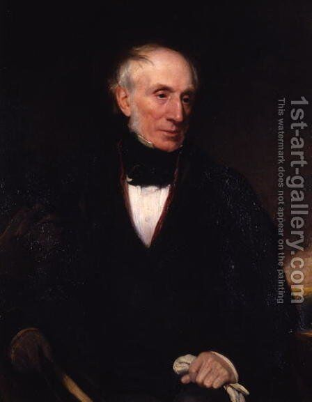 William Wordsworth, 1840 by Henry William Pickersgill - Reproduction Oil Painting