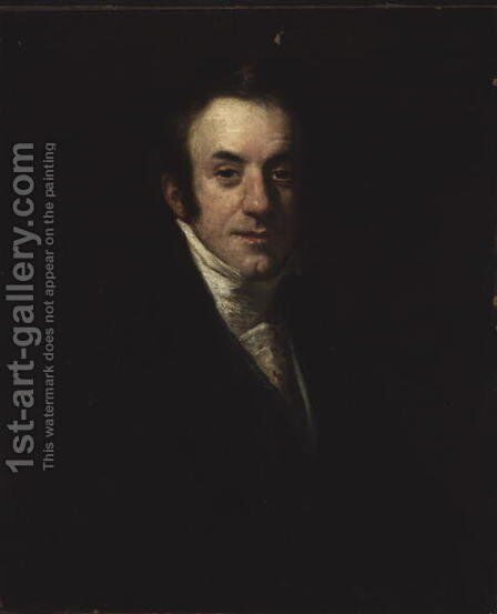 Self Portrait by Henry William Pickersgill - Reproduction Oil Painting