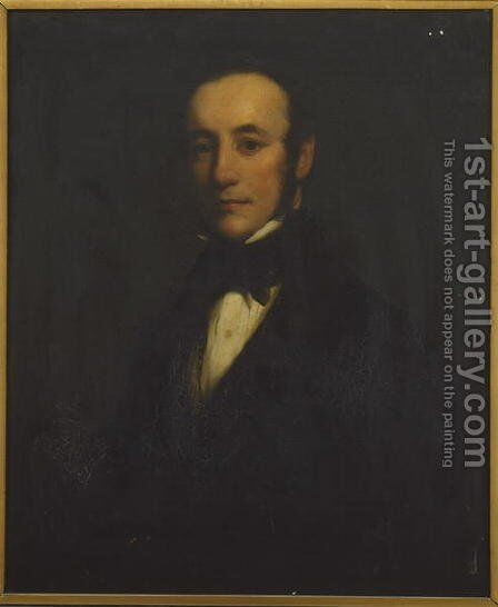 Self Portrait 2 by Henry William Pickersgill - Reproduction Oil Painting