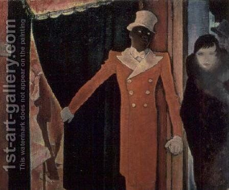 Entrance to the Tagada, 1931 by Glyn Warren Philpot - Reproduction Oil Painting