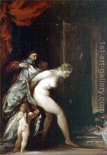 The Bath of Venus by Glyn Warren Philpot - Reproduction Oil Painting