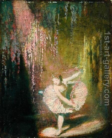 The Dance of the Sugar-Plum Fairy, 1908-9 by Glyn Warren Philpot - Reproduction Oil Painting