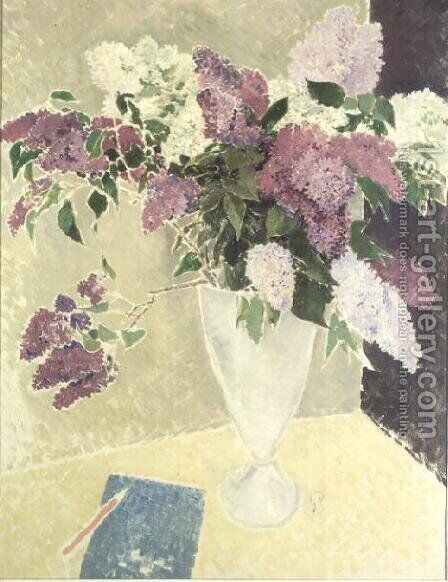Lilacs by Glyn Warren Philpot - Reproduction Oil Painting