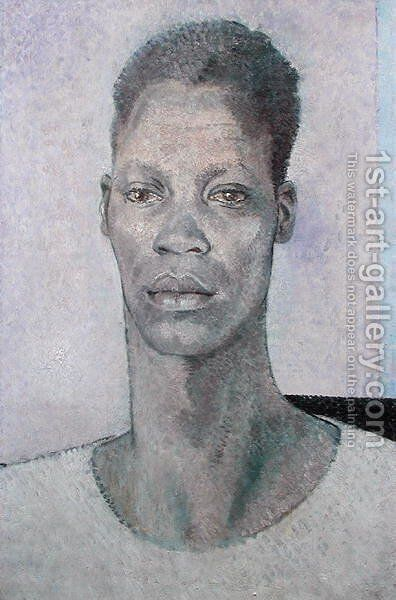 Head of a Negro, Heroic Scale, 1937 by Glyn Warren Philpot - Reproduction Oil Painting