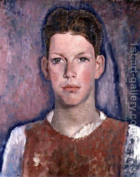 Head of a Boy by Glyn Warren Philpot - Reproduction Oil Painting