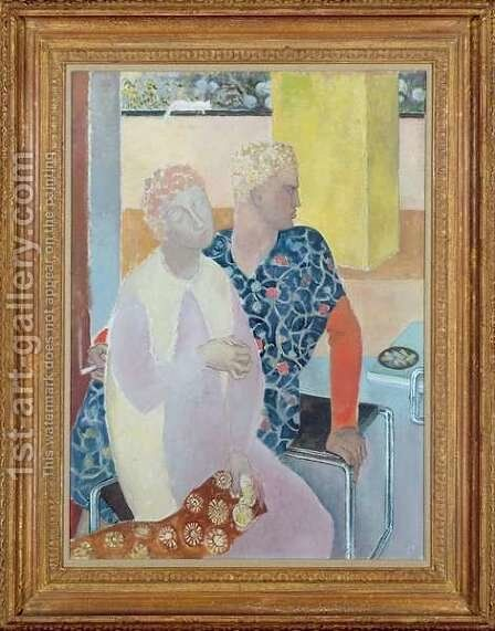 101st Afternoon with Penelope by Glyn Warren Philpot - Reproduction Oil Painting