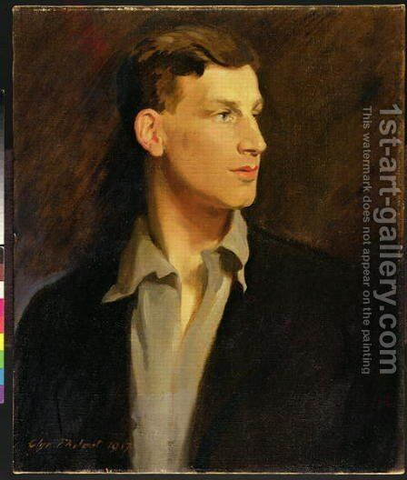 Portrait of Siegfried Sassoon 1886-1967 1917 by Glyn Warren Philpot - Reproduction Oil Painting