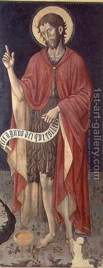 St. John the Baptist by Giovanni Antonio da Pesaro - Reproduction Oil Painting