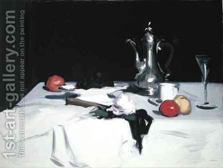 Still Life with Coffee Pot, c.1905 2 by Samuel John Peploe - Reproduction Oil Painting