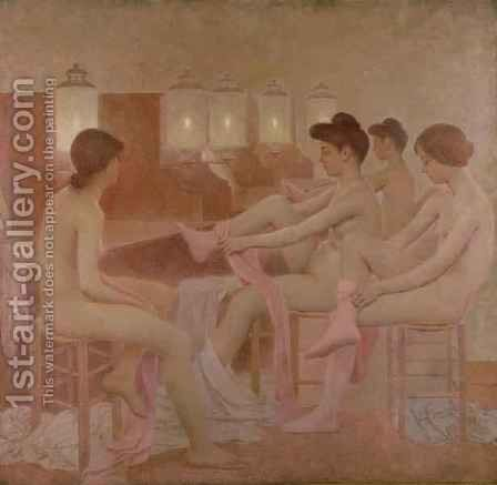 The Dancers, 1905-09 2 by Fernand Pelez - Reproduction Oil Painting