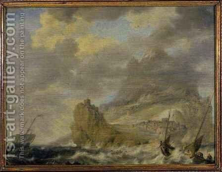 The Harbour from Tenerife by Bonaventura, the Elder Peeters - Reproduction Oil Painting