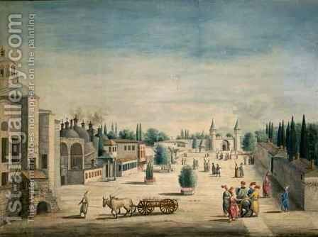 The Sultans Palace, Constantinople 180-75 by J. Payne - Reproduction Oil Painting