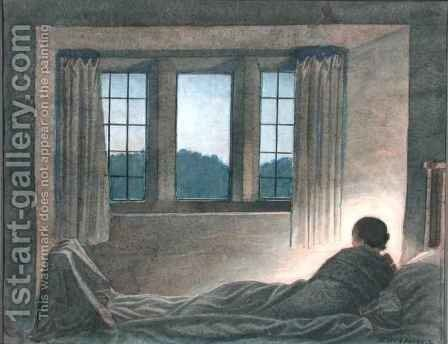 Study for The End of the Day, 1934 by Henry A. (Harry) Payne - Reproduction Oil Painting